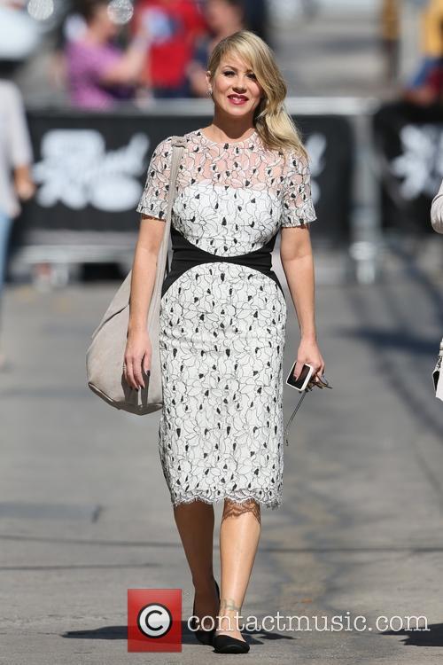 Christina Applegate arrives at ABC studios