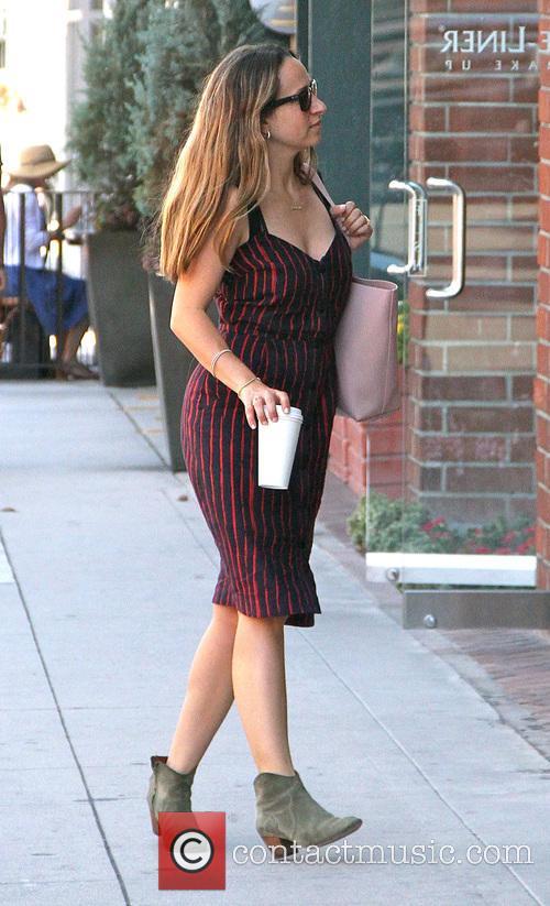 Jennifer Meyer goes shopping in Beverly Hills