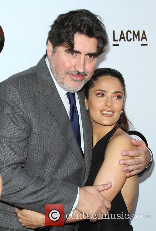 Alfred Molina and Salma Hayek 2