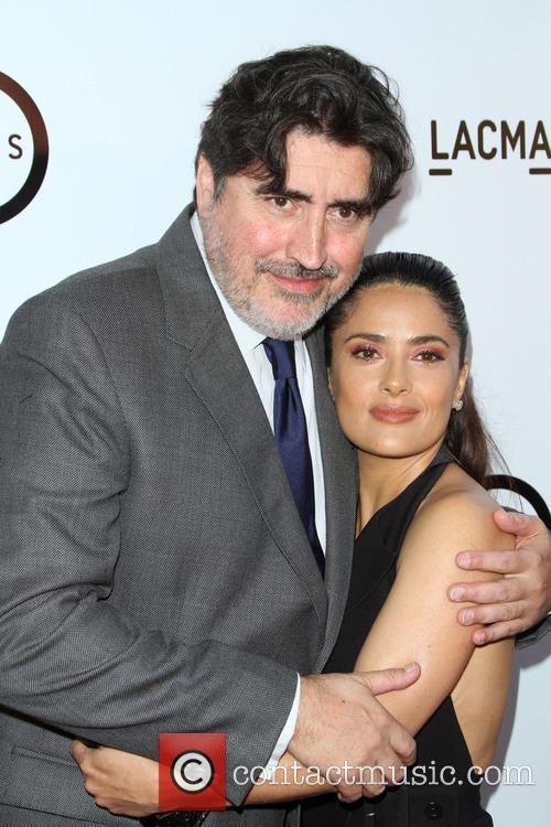 Alfred Molina and Salma Hayek 3
