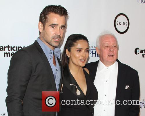 Colin Farrell, Salma Hayek and Jim Sheridan 2