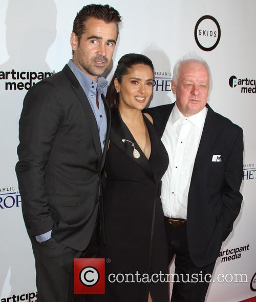 Colin Farrell, Salma Hayek and Jim Sheridan 3