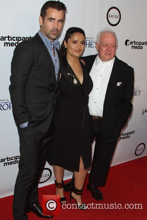Colin Farrell, Salma Hayek and Jim Sheridan 4