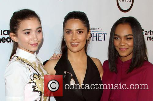 Rowan Blachard, Salma Hayek and China Anne Mcclain 2