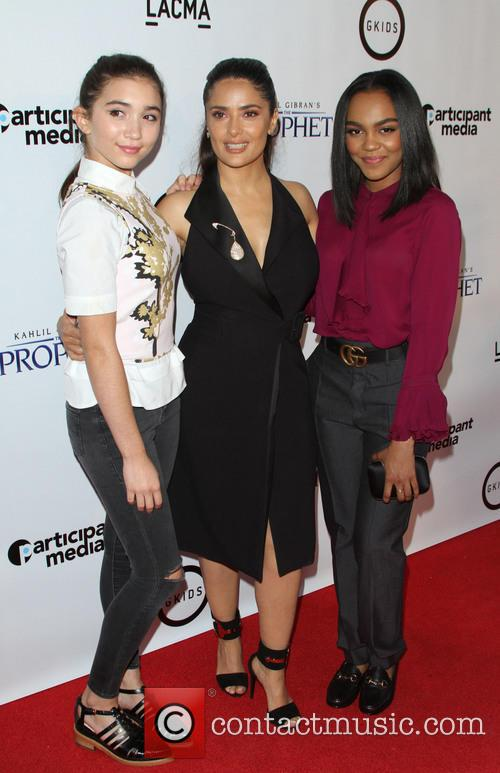 Rowan Blachard, Salma Hayek and China Anne Mcclain 4