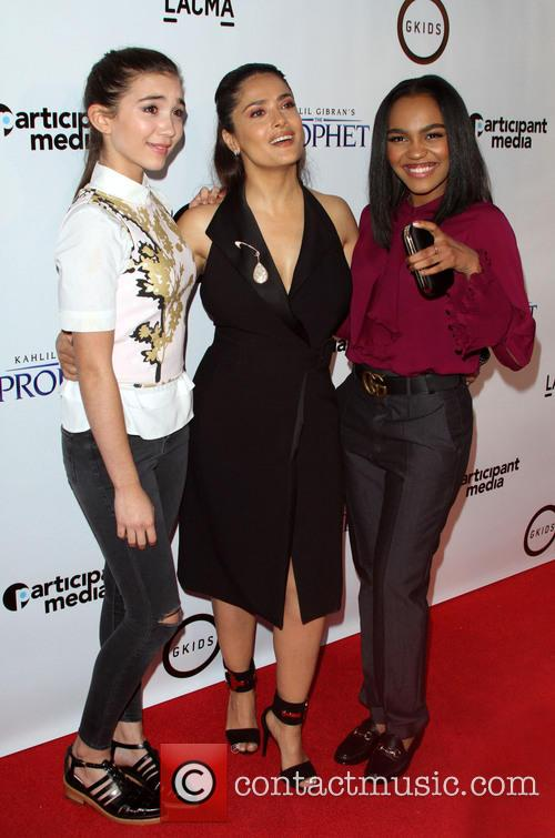 Rowan Blachard, Salma Hayek and China Anne Mcclain 6