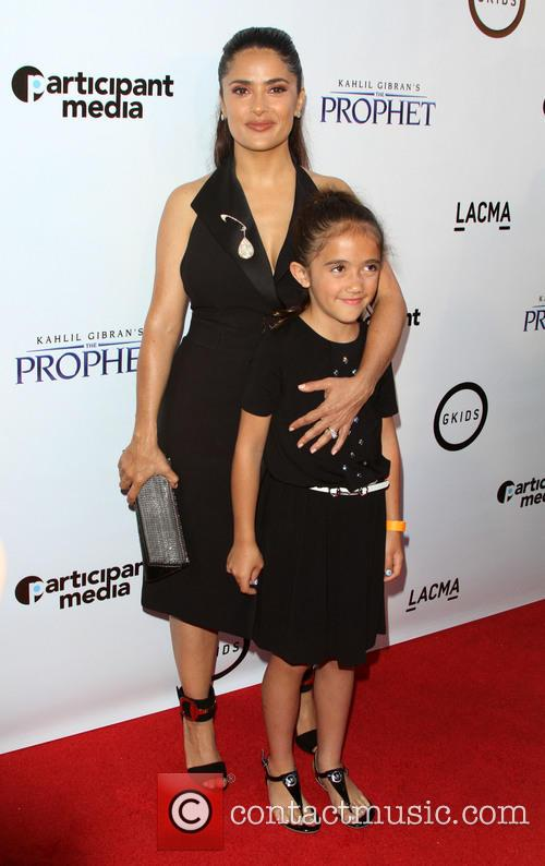 Salma Hayek and Daugther Valentina Paloma Pinault 4