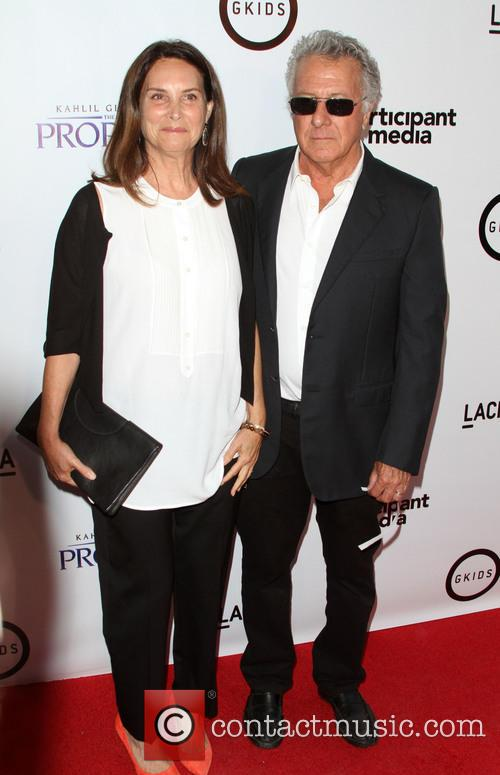 Dustin Hoffman and Wife Lisa Hoffman 4