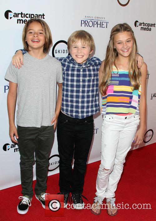 Mace Coronel, Casey Simpson and Lizzy Greene 1