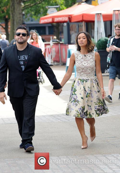 Adam Richman and Myleene Klass 2