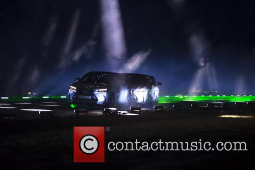 will.i.am And Lexus Create Laser And Sound Spectacular...