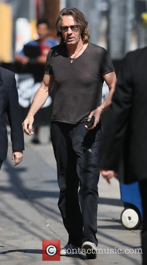 Rick Springfield arrives at ABC studios