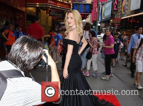 Scarlett Johansson Wax Portrait Madame Tussauds New York