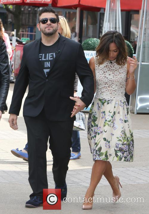 Myleene Klass and Adam Richman