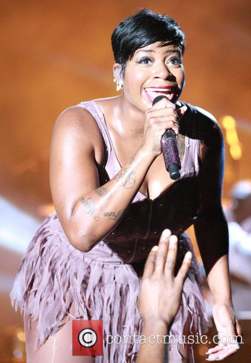 Fantasia performs live at the Dell East Music...