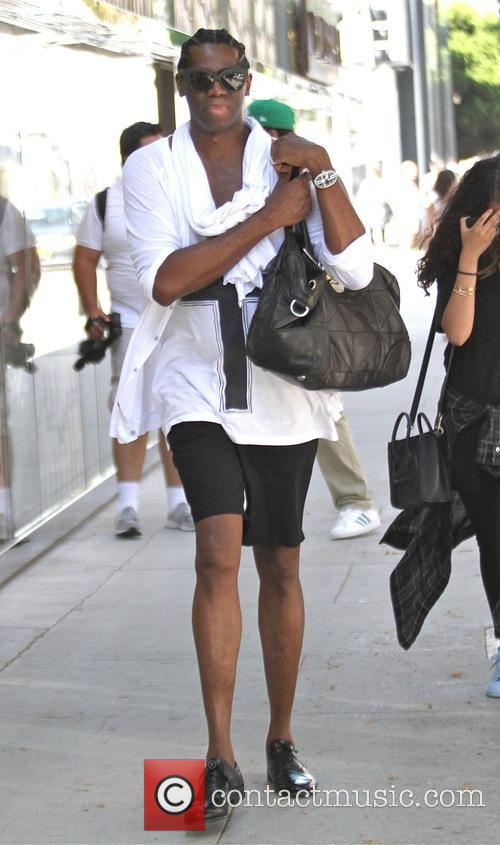 J. Alexander goes shopping in Beverly Hills