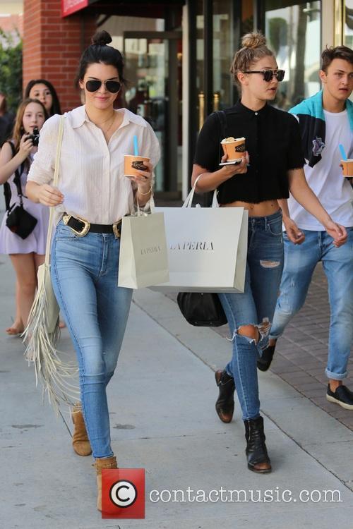Kendall Jenner and Gigi Hadid 2