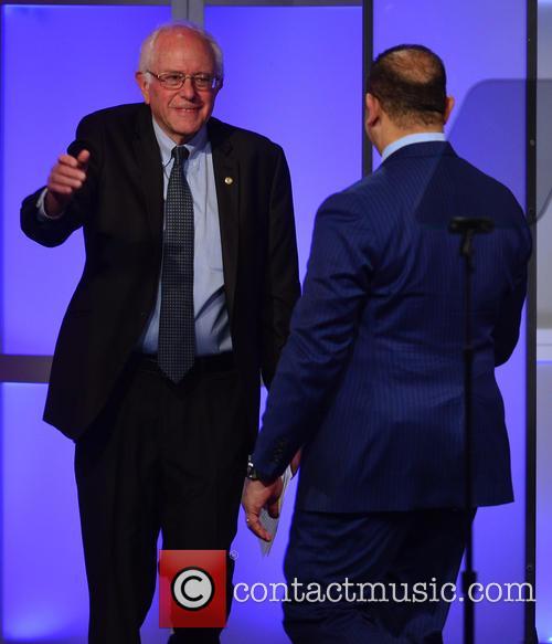 Democratic Presidential Hopeful U.s. Senator Bernard 'bernie' Sanders and National Urban League President & Ceo Marc H. Morial 7