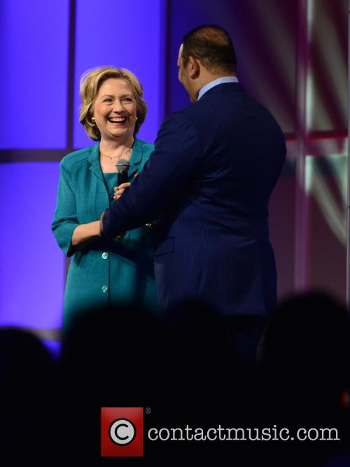 Hillary Clinton and National Urban League President & Ceo Marc H. Morial 10