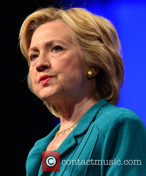 Hillary Clinton speaks during the Presidential Candidates Plenary