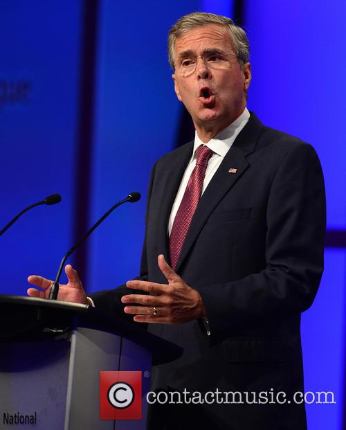 Jeb Bush speaks during the Presidential Candidates Plenary