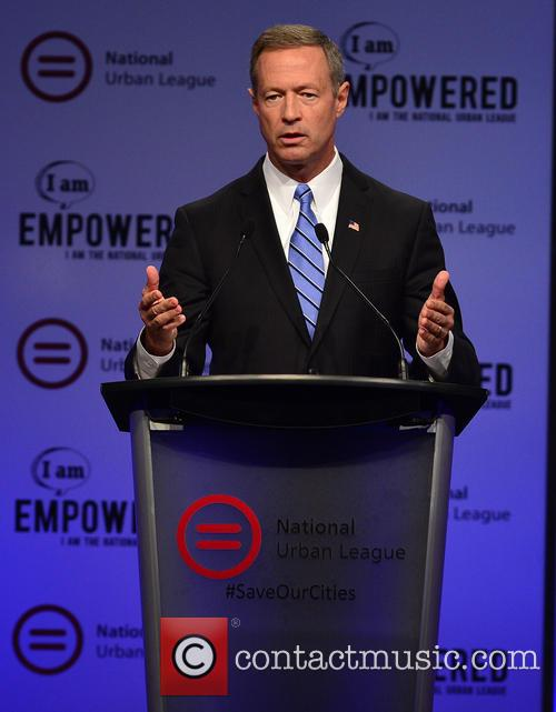 Democratic Presidential Hopeful Former Maryland Gov. Martin O'malley 1