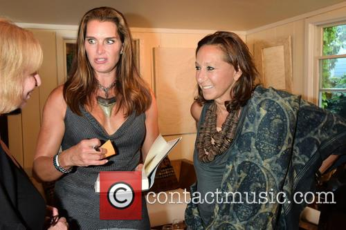Brooke Shields and Donna Karan 8