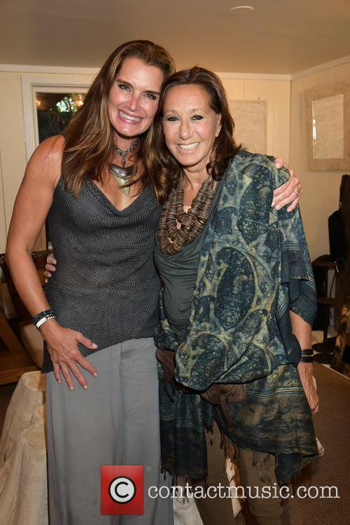 Brooke Shields and Donna Karan 9