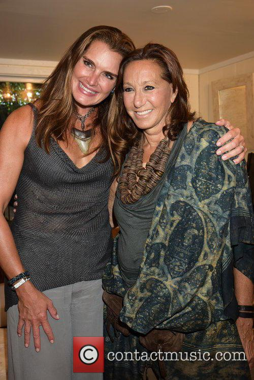 Brooke Shields and Donna Karan 10