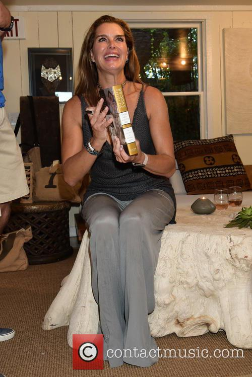 Brooke Shields signs copies of her new book