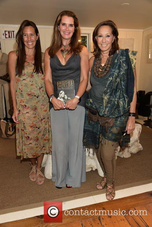 Gabby Karan, Brooke Shields and Donna Karan 2
