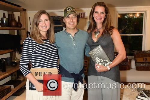 Lauren Bush Lauren, David Lauren and Brooke Shields 1