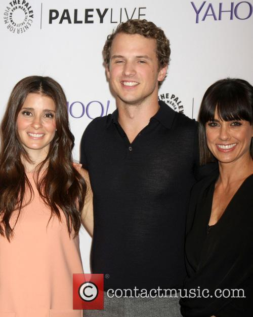 Shiri Appleby, Freddie Stroma and Constance Zimmer 5