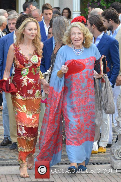 Guest and Marta Marzotto 1