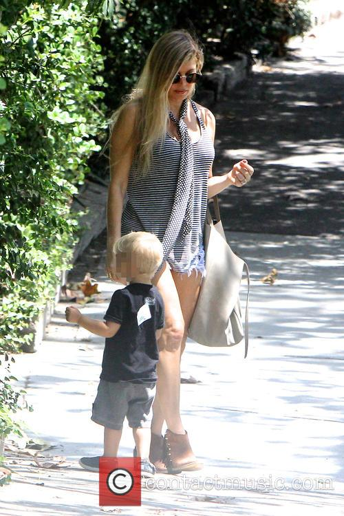 Fergie and Axl Duhamel 9