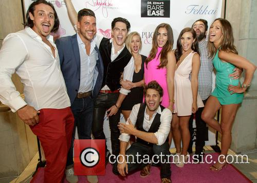 Peter Madrigal, Jax Taylor, Katie Maloney, Scheana Shay, Tom Sandoval, Ariana Madix, Tom Schwartz, Mike Shay and Kristin Doute 11