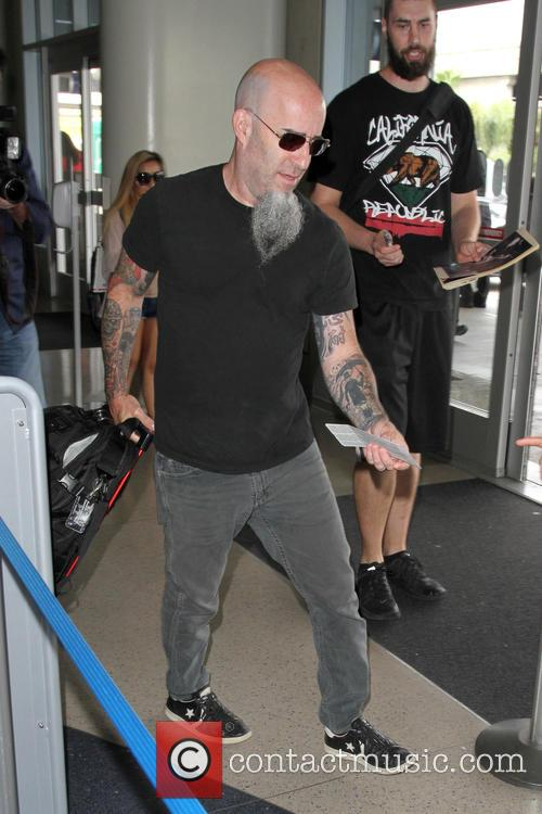 Scott Ian, lead guitarist of Anthrax, departs from...