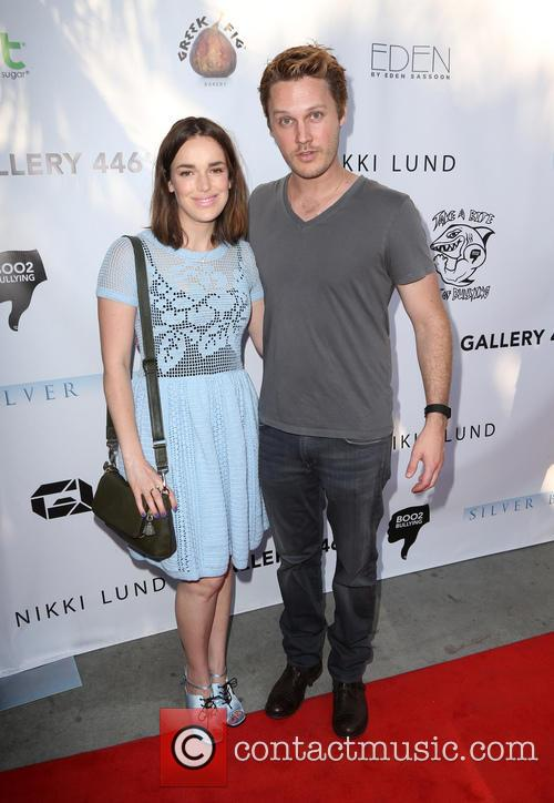 Elizabeth Henstridge and Zachary Abel 2