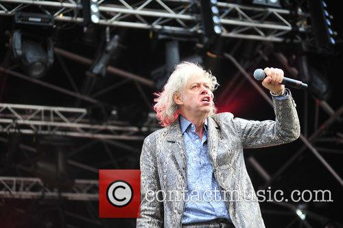 Sir Bob Geldof and The Boomtown Rats 4