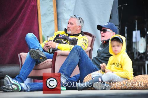 Paul Hollywood, Chris Evans and Noah Evans 7