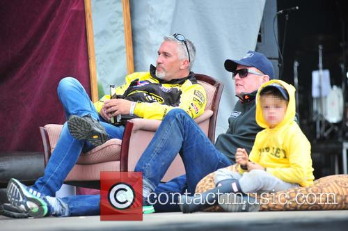 Paul Hollywood, Chris Evans and Noah Evans 8