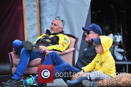 Paul Hollywood, Chris Evans and Noah Evans 9