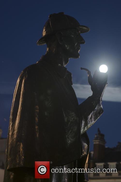 Sherlock Holmes Statue At Baker Street 5