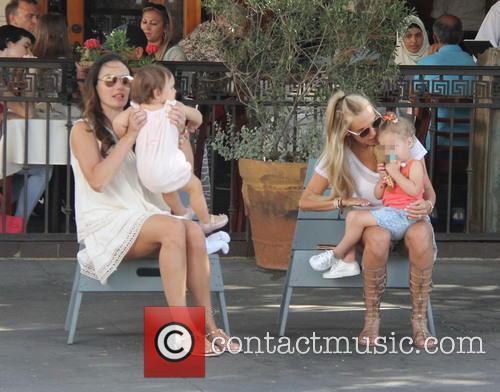 Tamara Eccleston, Sophia Eccelstone-rutland, Petra Ecclestone and Lavinia Stunt 5