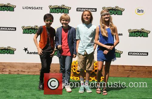 Aides Gallagher, Casey Simpson, Mace Coronel and Lizzy Greene 2