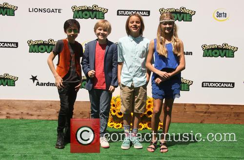 Aides Gallagher, Casey Simpson, Mace Coronel and Lizzy Greene 3