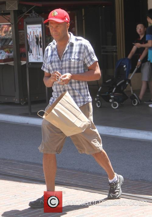 Tom Morello goes shopping at The Grove