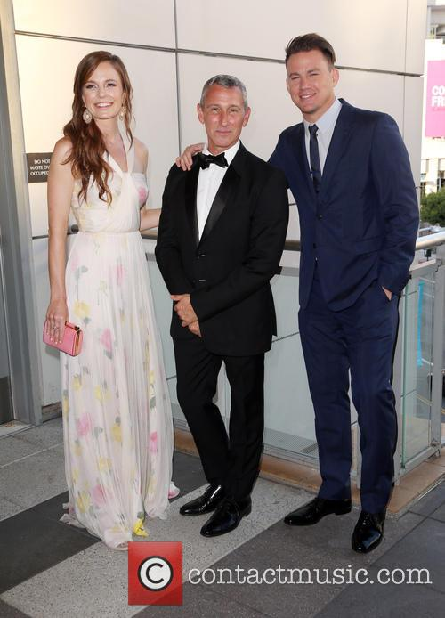 Rachel Boston, Adam Shankman and Channing Tatum