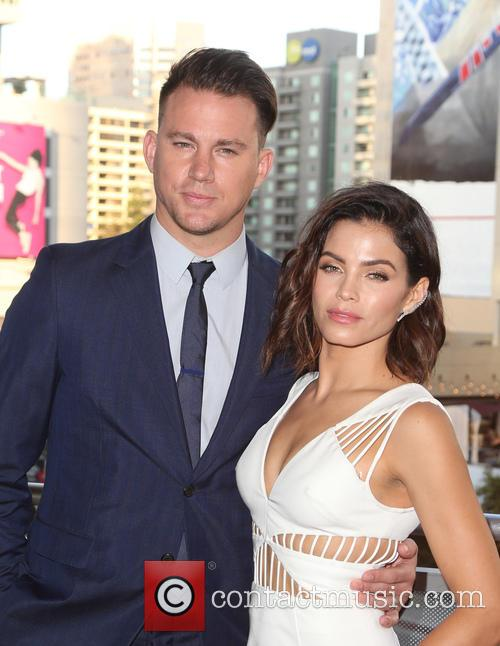 Channing Tatum and Jenna Dewan-tatum 1