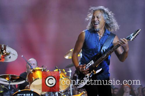 Kirk Hammett and Metallica 3